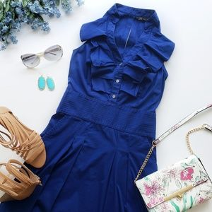 Express Design Studio Ruffle Collar Dress Size 4